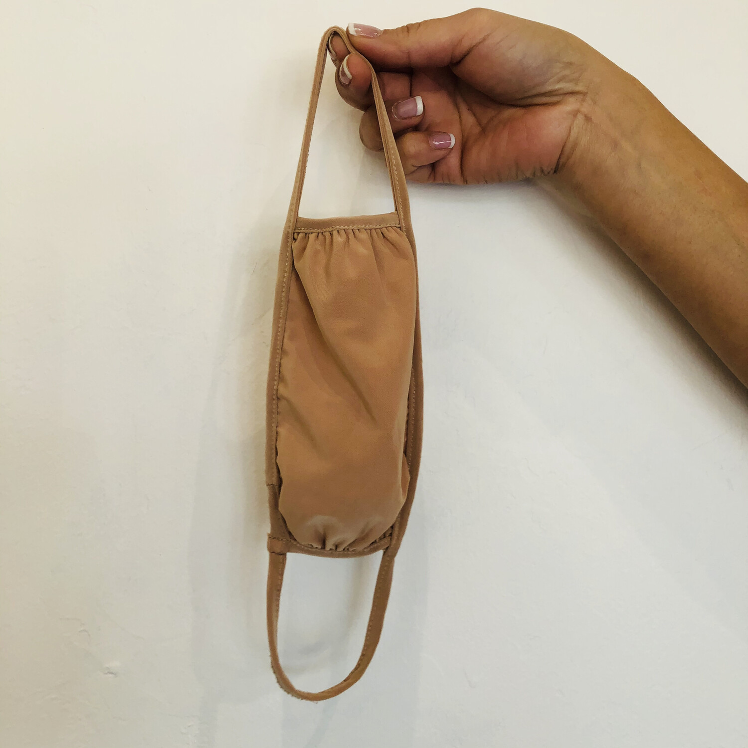 Beige Double Layer Mask