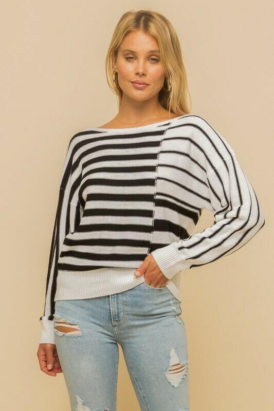 Janie Stripe Sweater