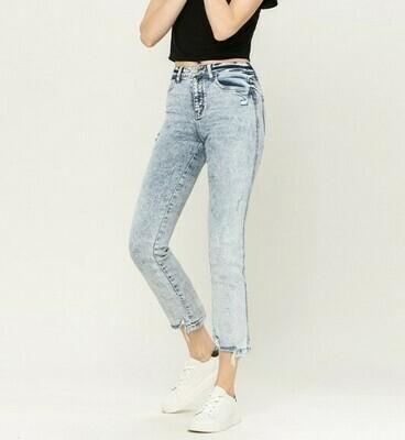 Acid Wash Straight Jean