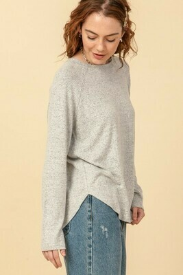Stay Home Tunic-Heather