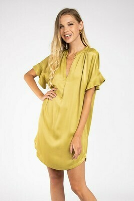 Deighton Dress-Green