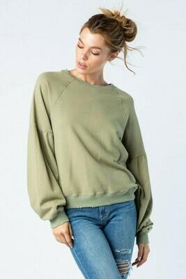 French Terry Vintage Sweatshirt
