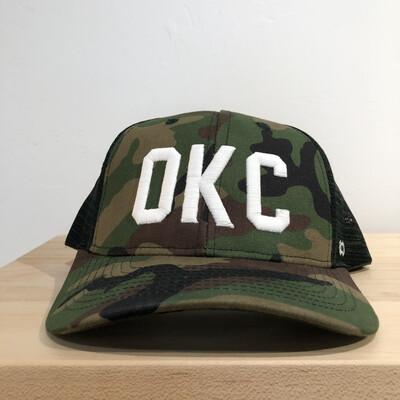 OKC Camo Trucker