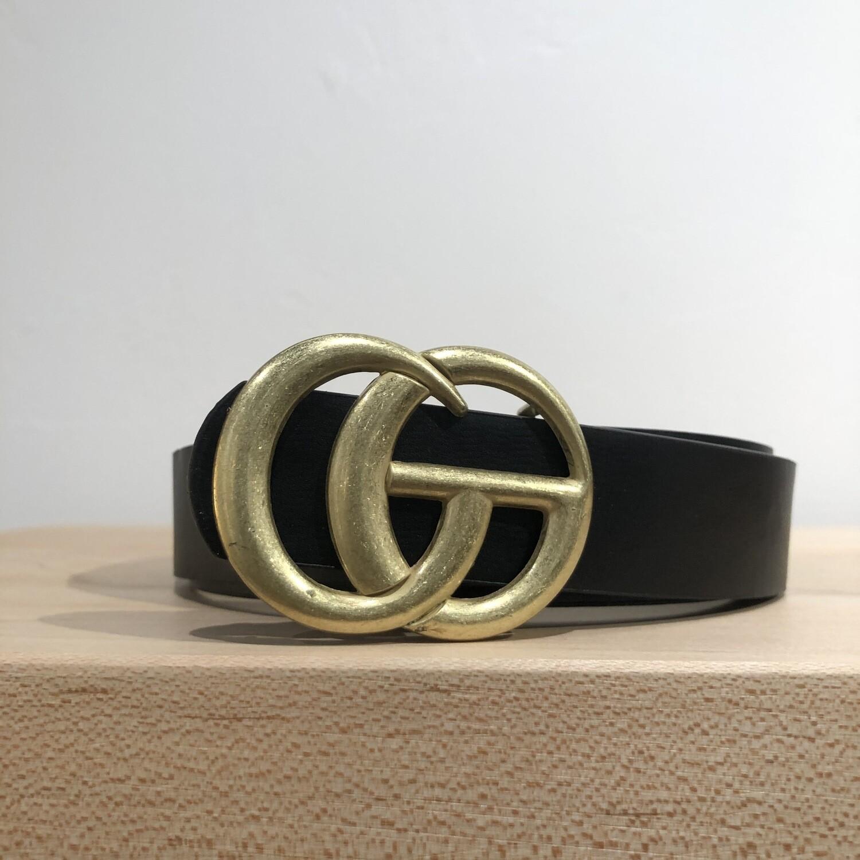 Double G Belt-Black