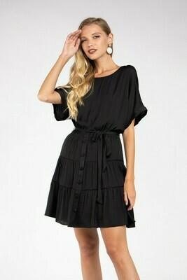 Festive Dress-Black