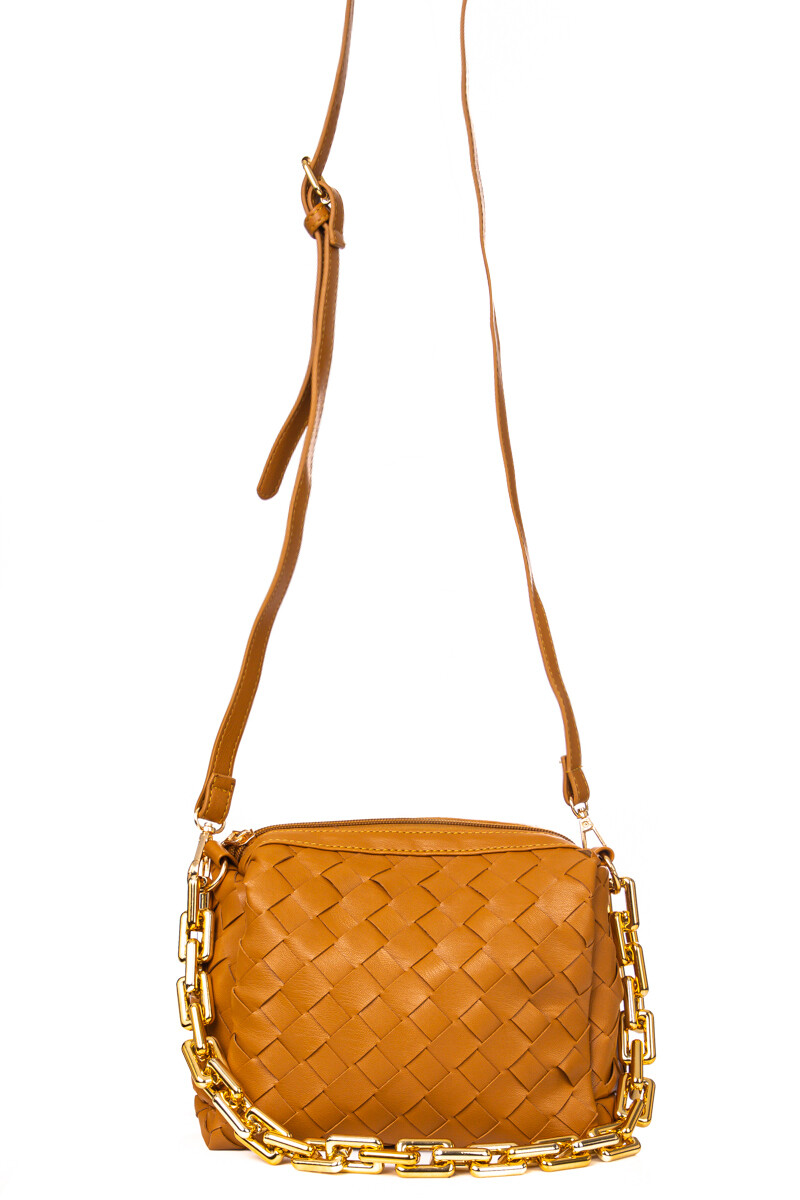 Daniella Crossbody-Brown