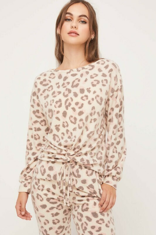 Softy Cheetah Pullover