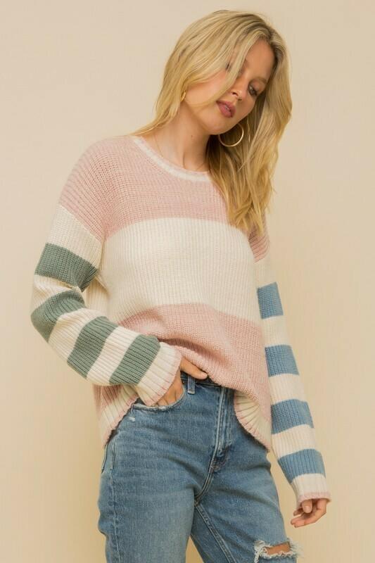 Bethanie Stripe Sweater