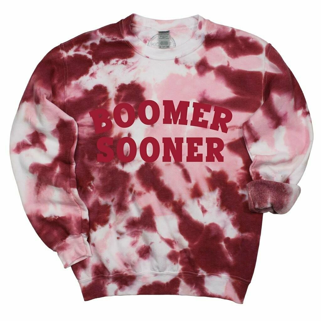 Boomer Tie Dye Pullover