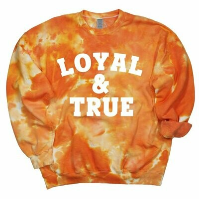 Loyal Tie Dye Pullover
