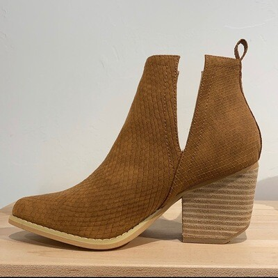 Jena Bootie-Brown