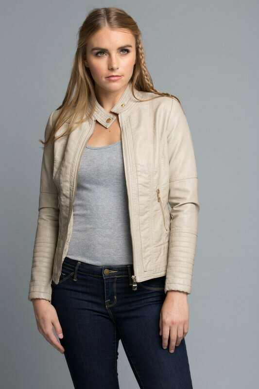Bring It On Jacket-Cream