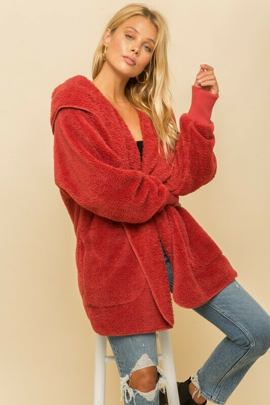 Solid Snuggie-Red
