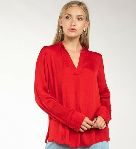 Best Ever Blouse-Red