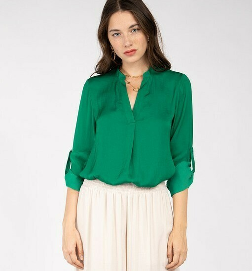 Best Ever Blouse-Green
