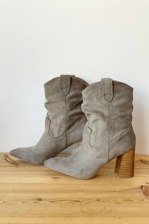 Mavis Boot-Grey