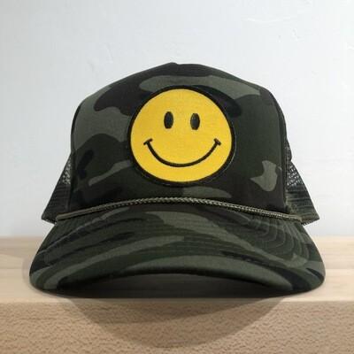 Smile Hat-Camo