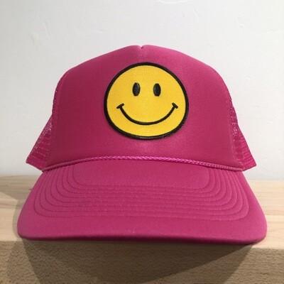 Smile Hat-Pink