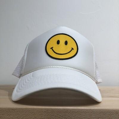 Smile Hat-Wht