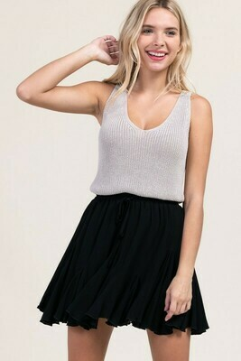 Becca Skirt-Blk
