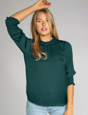Tabitha Blouse-Forest