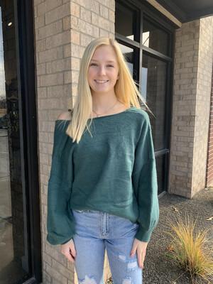 Heidi Sweater-Emerald