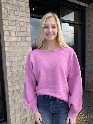 Heidi Sweater-Pink