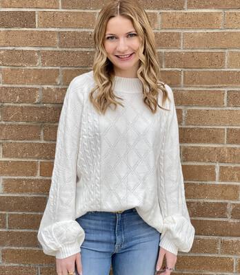 Janie Sweater-Ivory