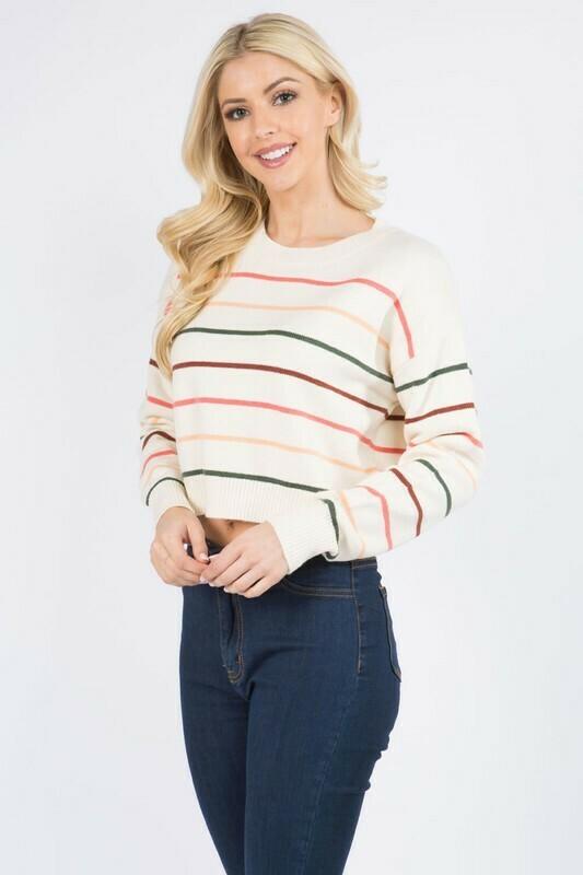 Chantel Sweater-Ivory