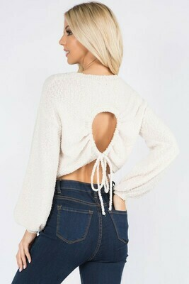 Oh Hey There Sweater-Ivory