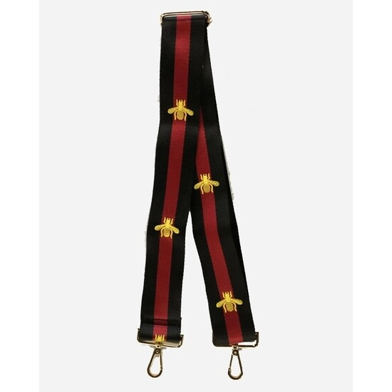 Bee Strap-Black Red