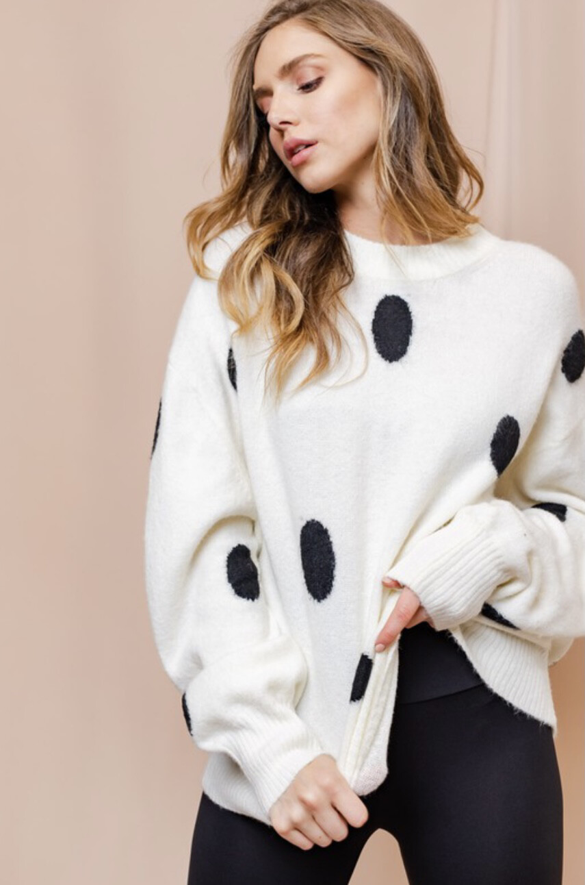 Big Dot Sweater