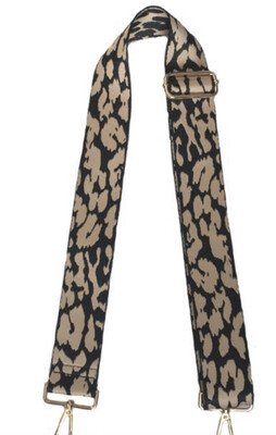 Leopard Strap-Camel