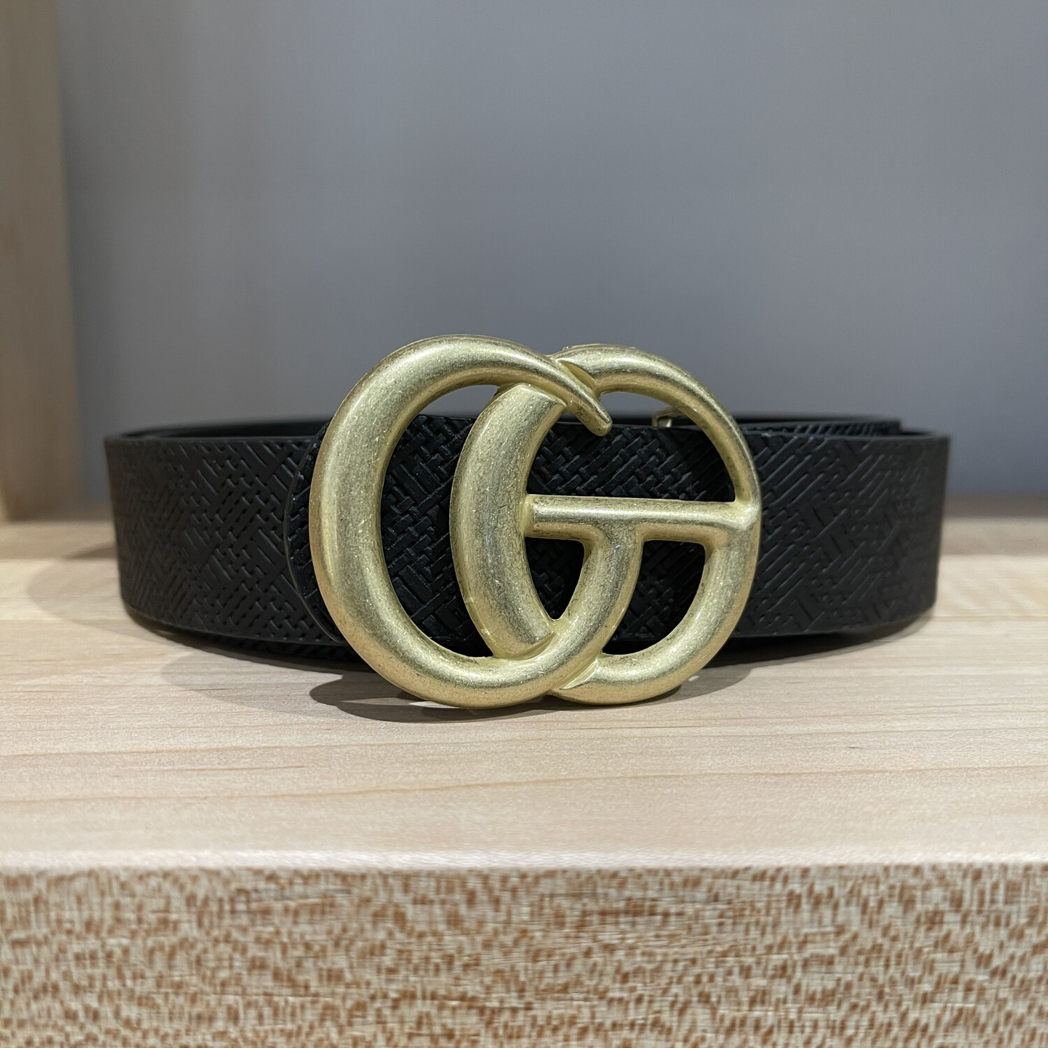 Double G Textured-Blk