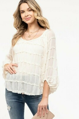 Flirty Blouse