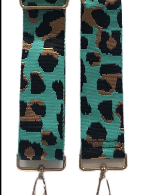Turquoise Leopard Strap