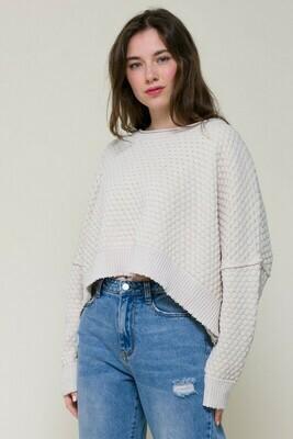 Sarah Beth Sweater-Ivory