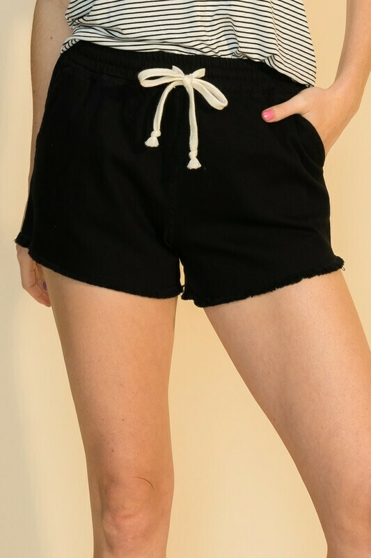 Cutoff Short-Blk