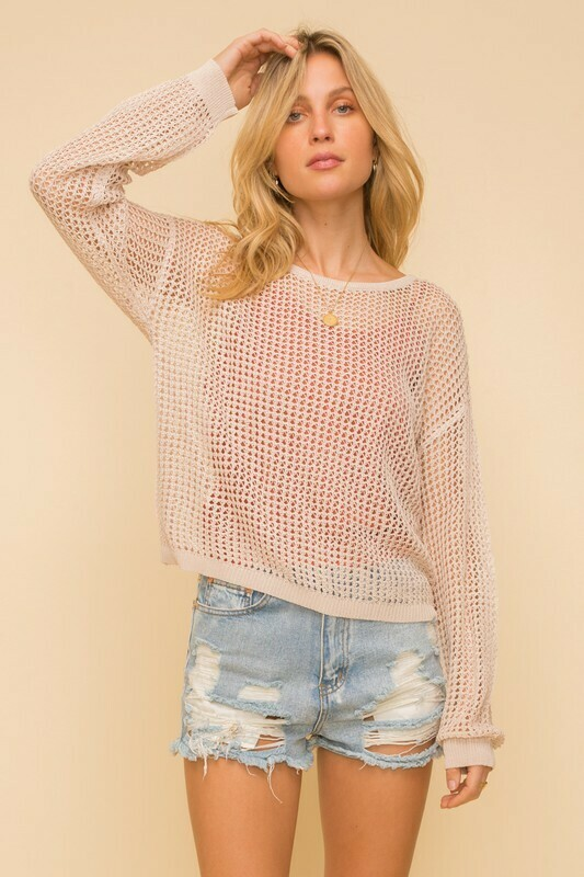 Netti Sweater-Beige
