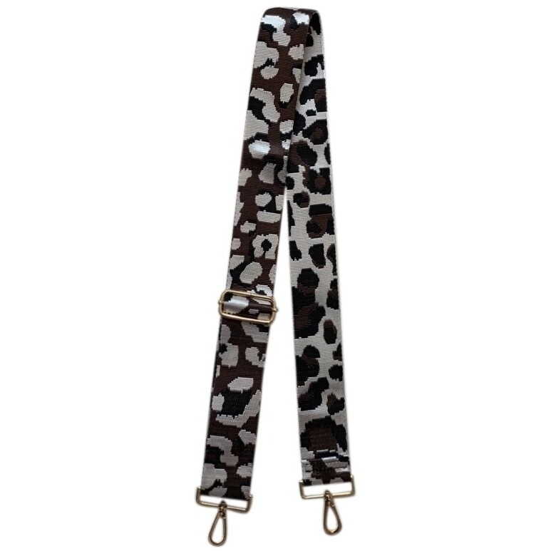 Leopard Strap-Coffee