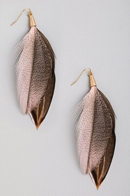 Fab Feather Earring
