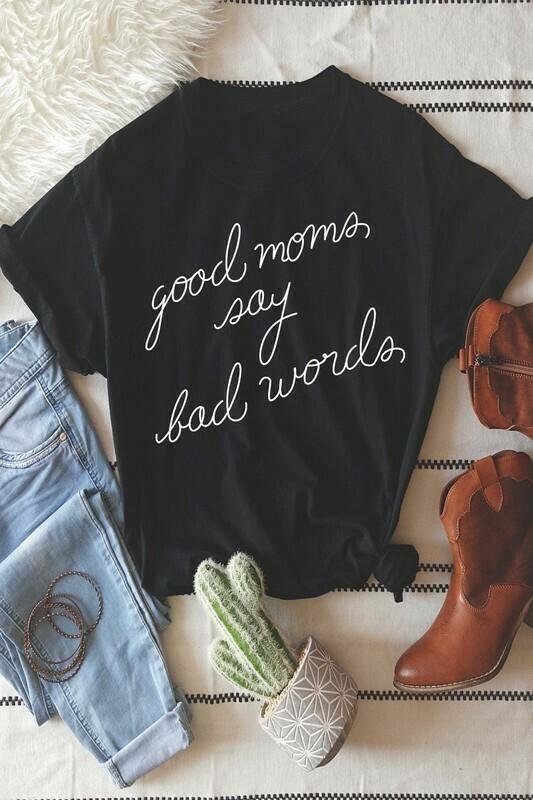 Bad Words Tee-Blk