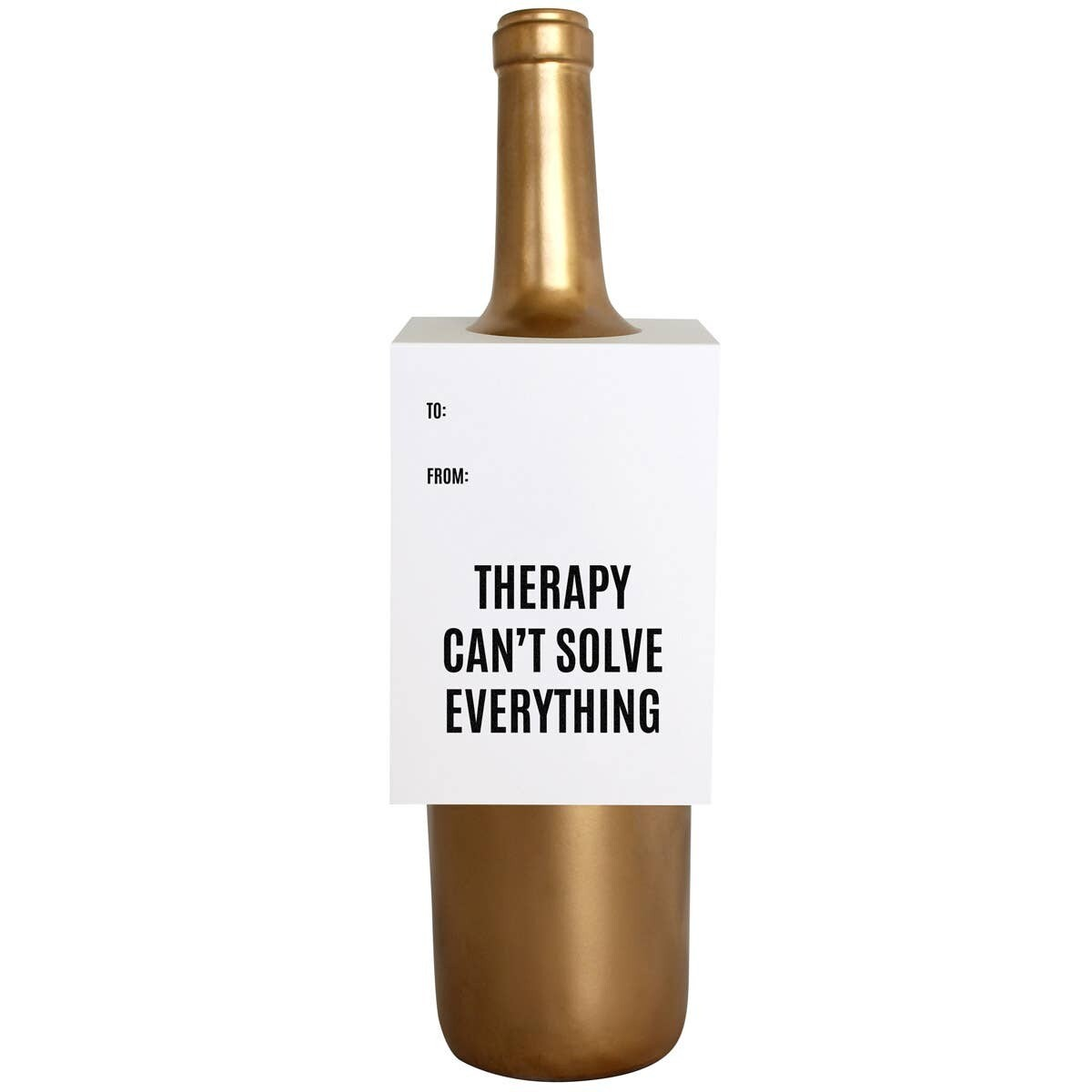 Therapy Wine Card