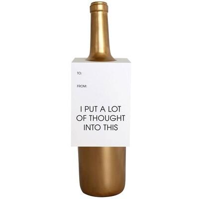 Thoughtful Wine Card