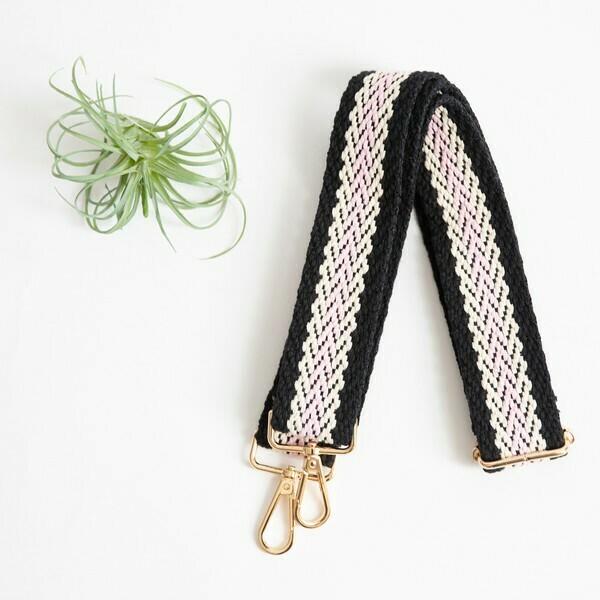 Blk & Pink Strap