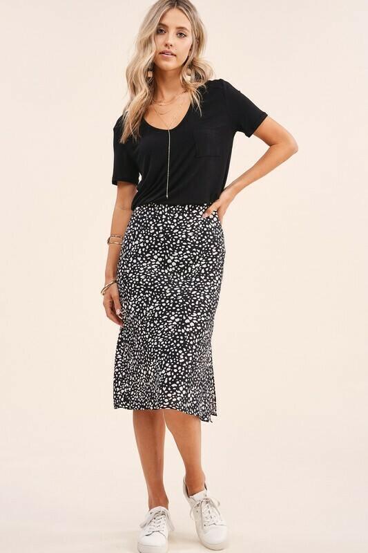 Oh Animal Skirt-Blk