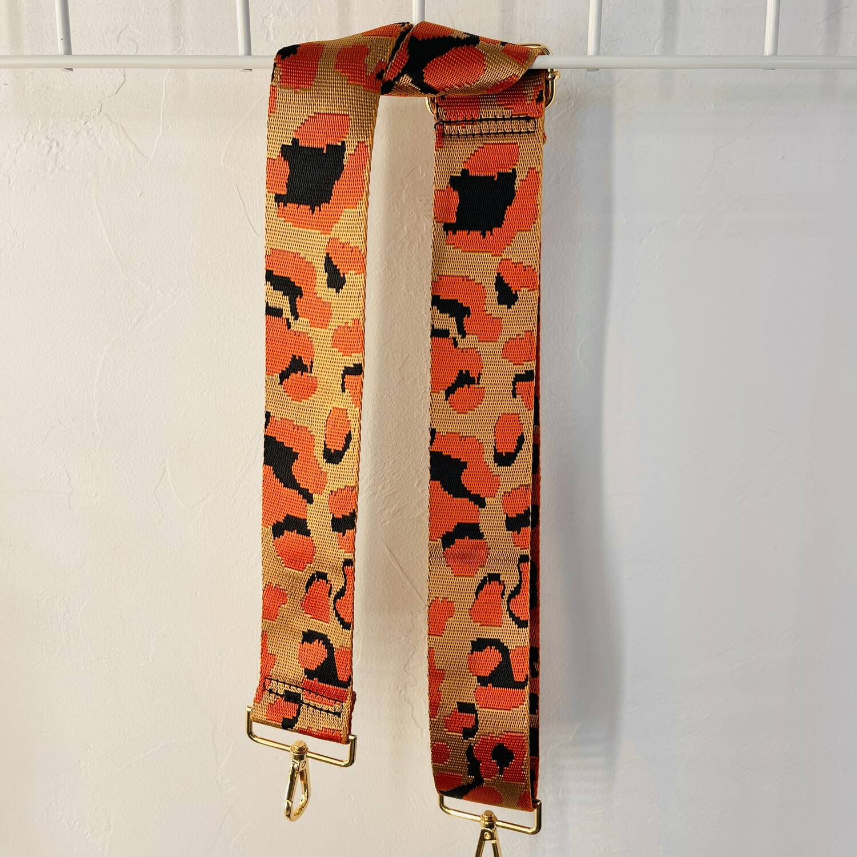 Orange Leopard Strap