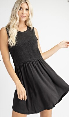 Oh Baby Dress-Blk