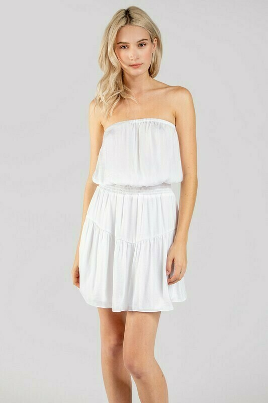 Whitney Dress-White