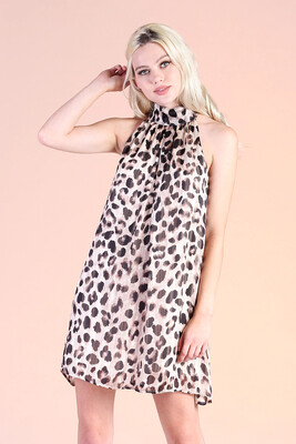 Rawr Hi Neck Dress